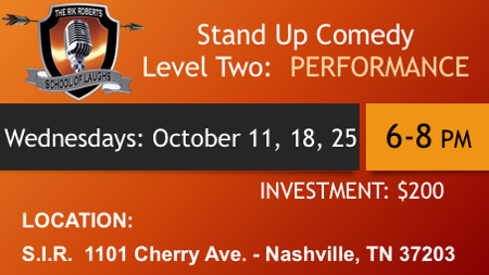 Stand-Up Comedy Classes