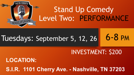 september 2017 comedy classes