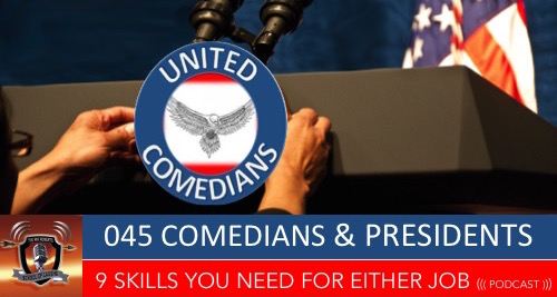 045 comedians and presidents school of laughs podcast