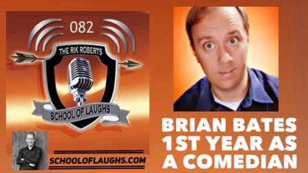 Comedian Brian Bates