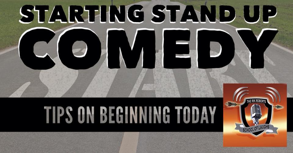 stand up comedy how to start