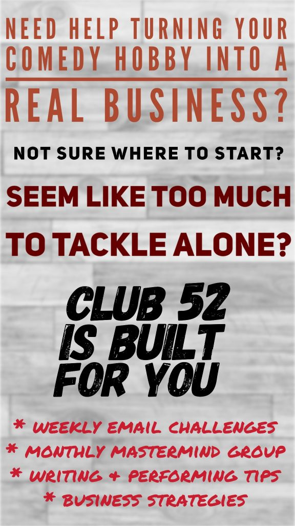 Club 52 Poster