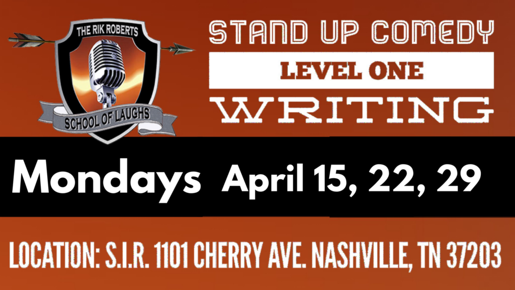 Comedy Writing Classes in Nashville