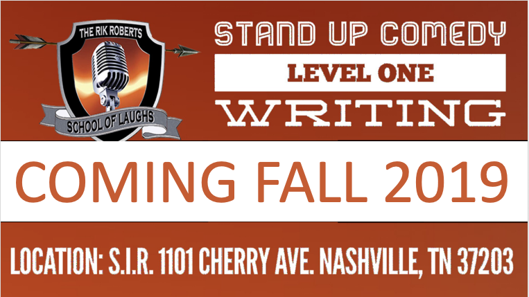 Stand Up Comedy Writing Class in Nashville