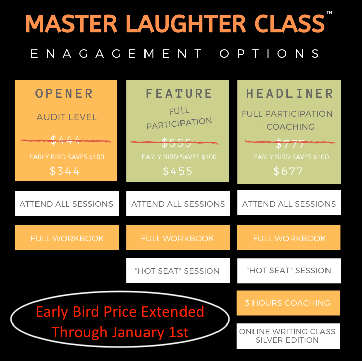 master Laughter Class costs