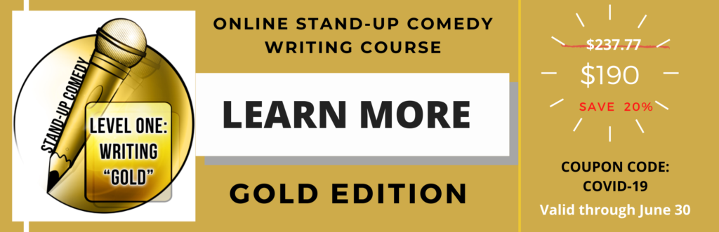 Online Comedy Classes