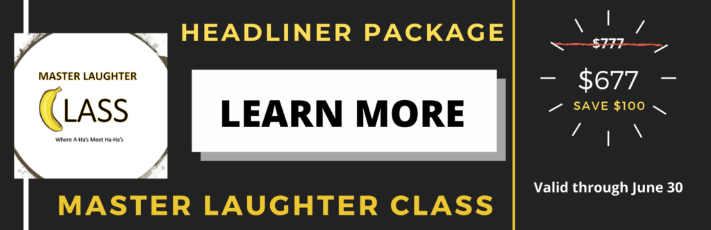 Comedy Classes for Speakers who want to add humor to their presentations.