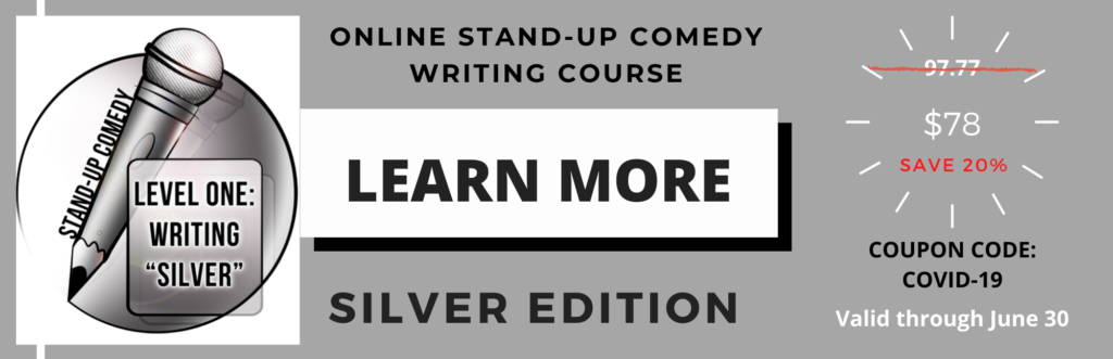 Online Stand-Up Comedy Class