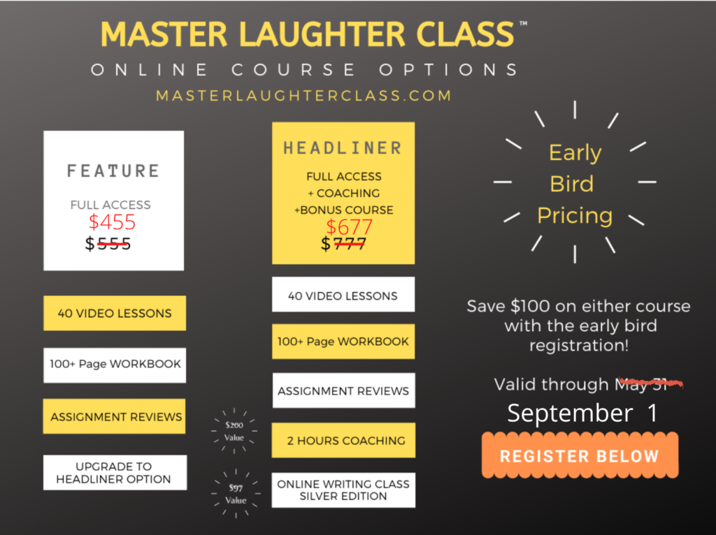 Master Laughter Class Online