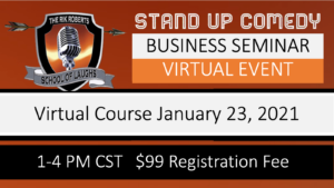 Business of Comedy Workshop