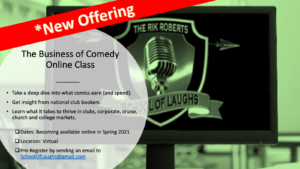 Business of Comedy Online Class