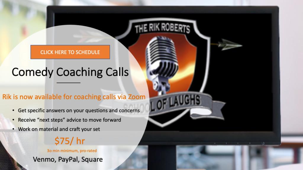 comedy coaching calls